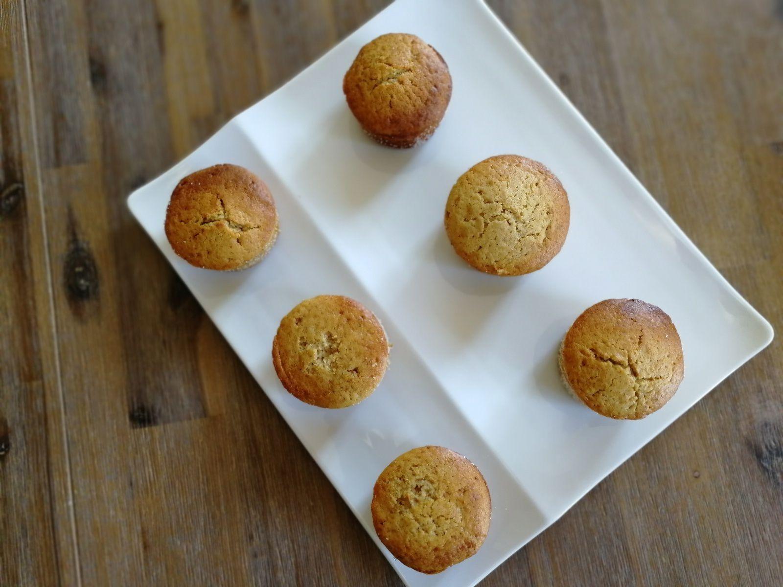 Doffins (mi muffins/mi donuts) - fourrés à la pâte à tartiner