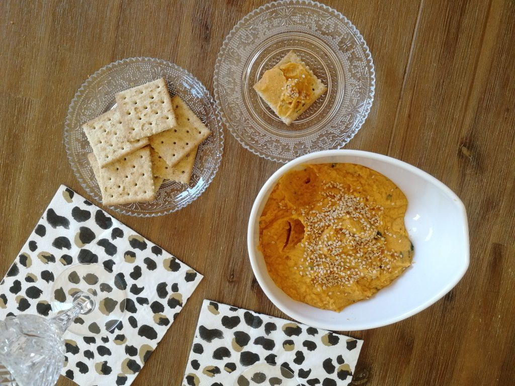 Houmous pois chiche - Patate Douce