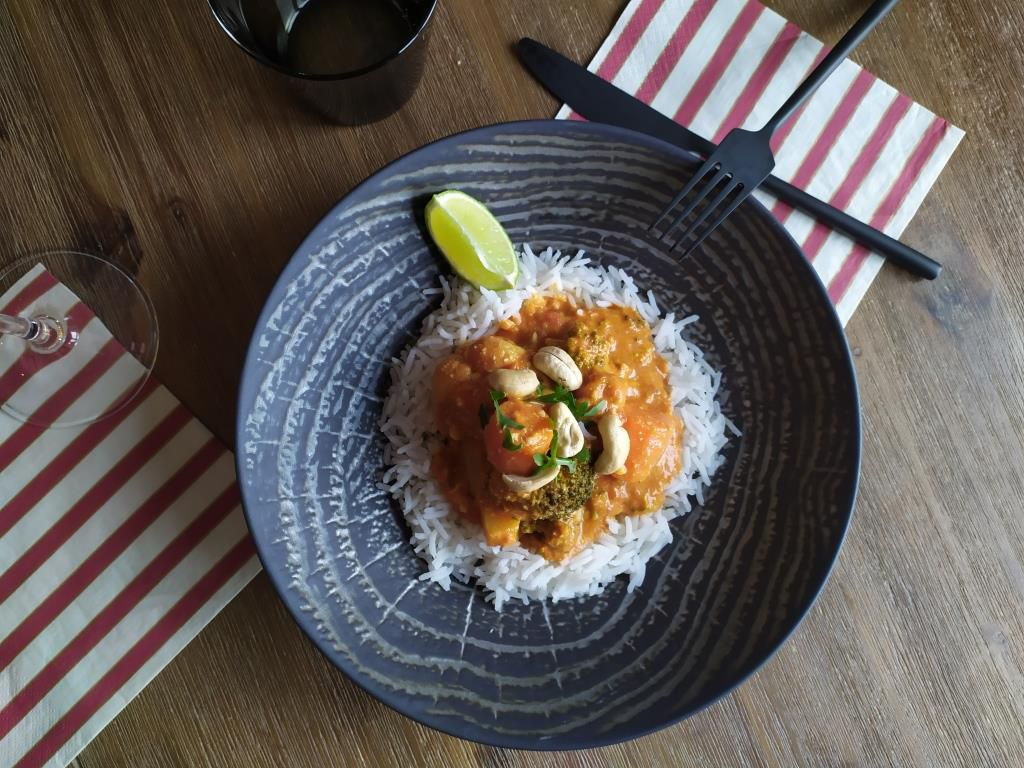 Curry végétarien aux légumes d'hiver