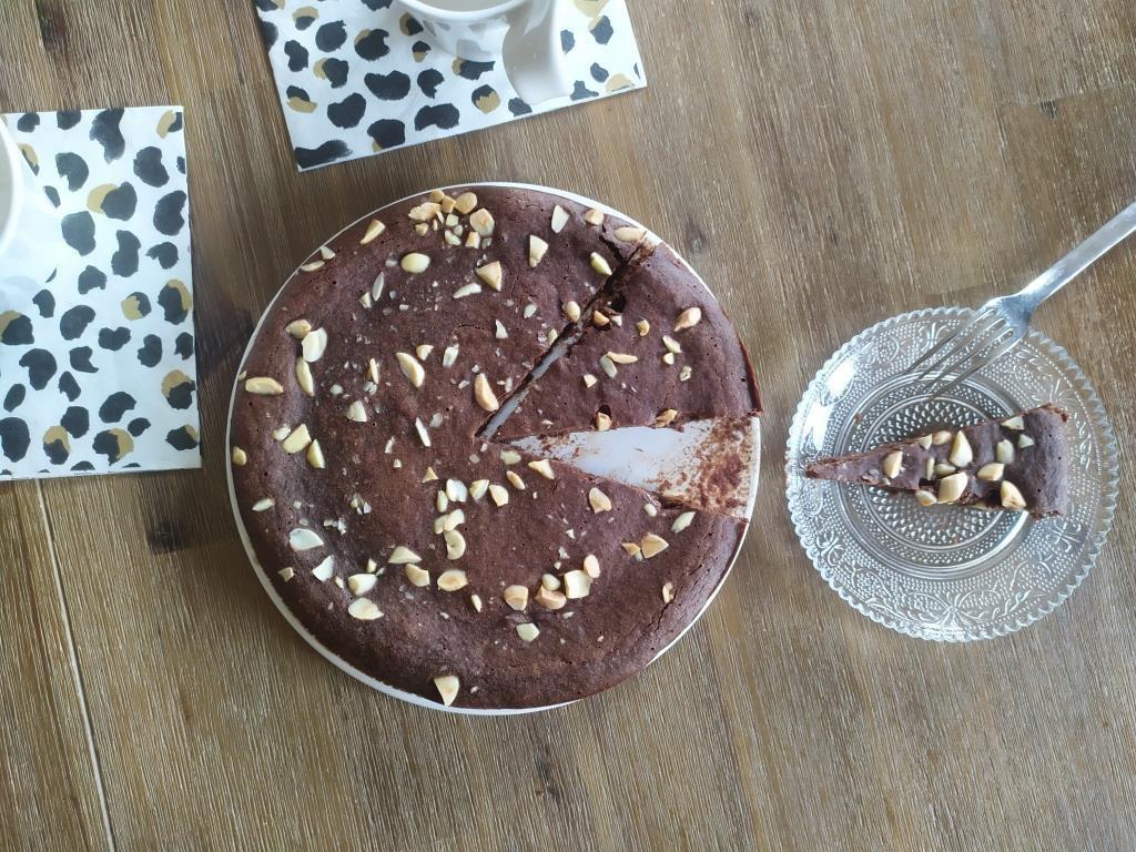Financier géant chocolat / amandes