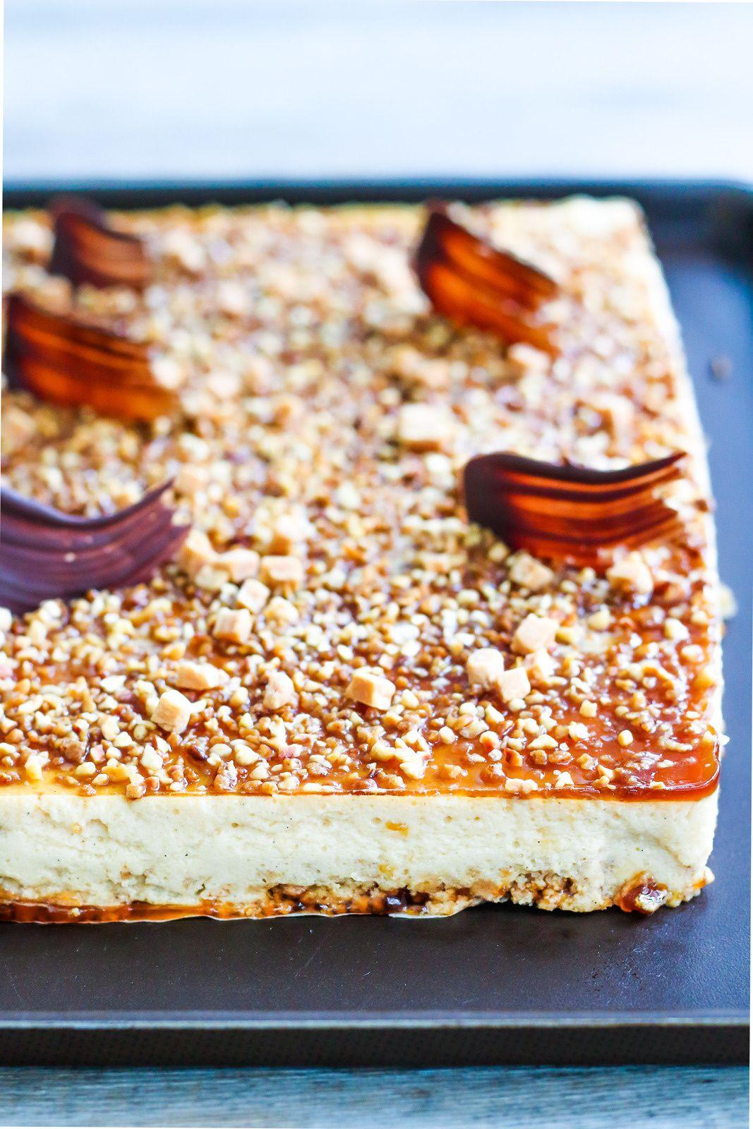 Entremet façon bavarois vanille & caramel