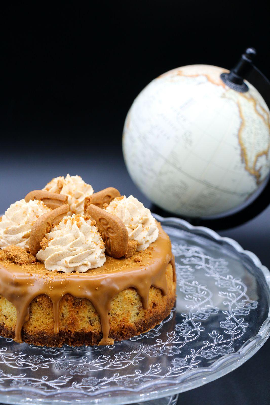 Cheese-cake de New-York au spéculoos