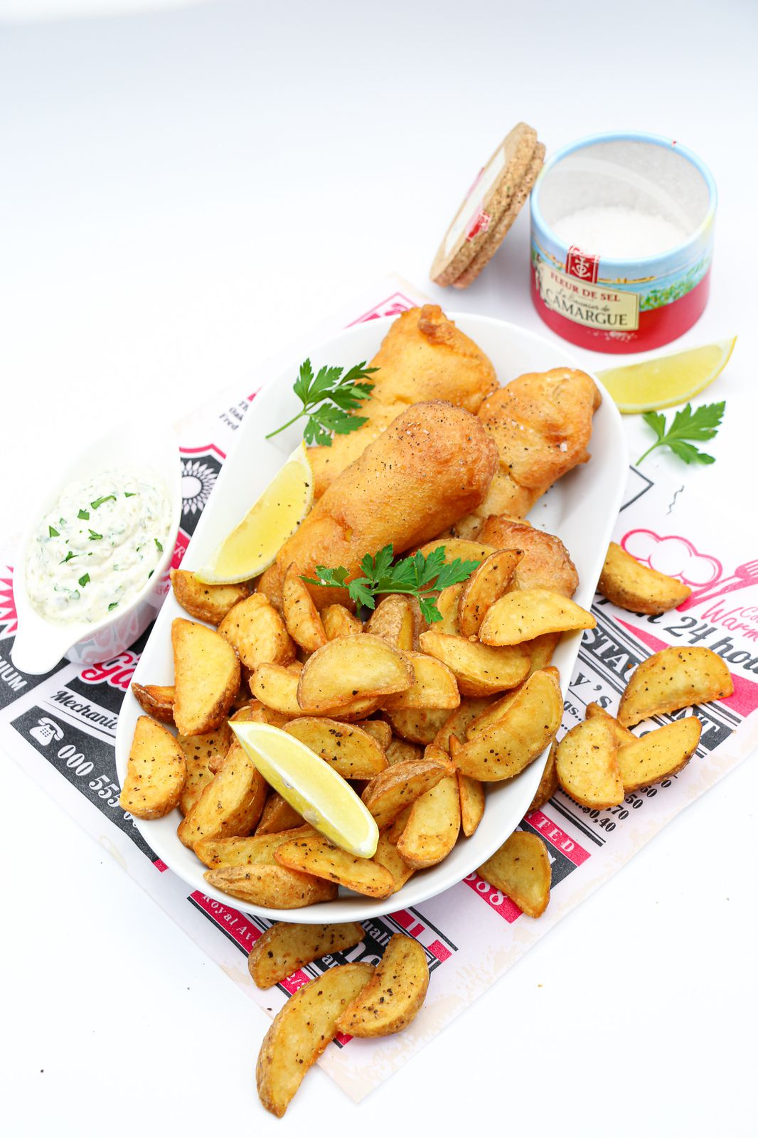 Fish and Chips l'authentique
