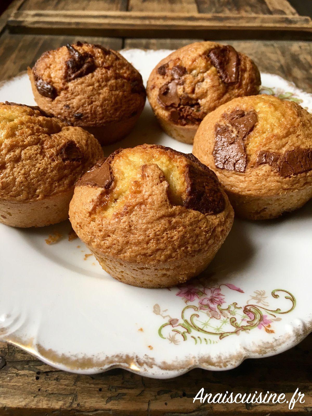 Muffins faciles aux chocolats de Pâques