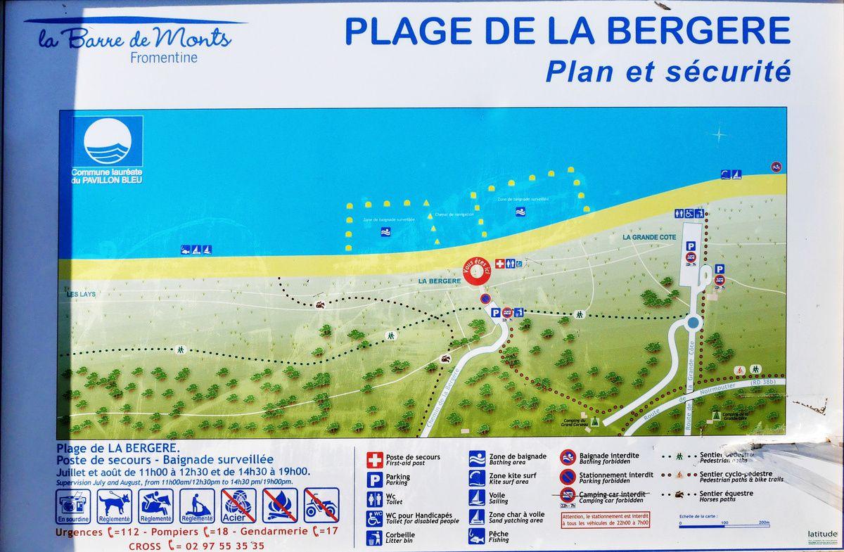 Plages de Vendée : Notre-Dame-de-Monts