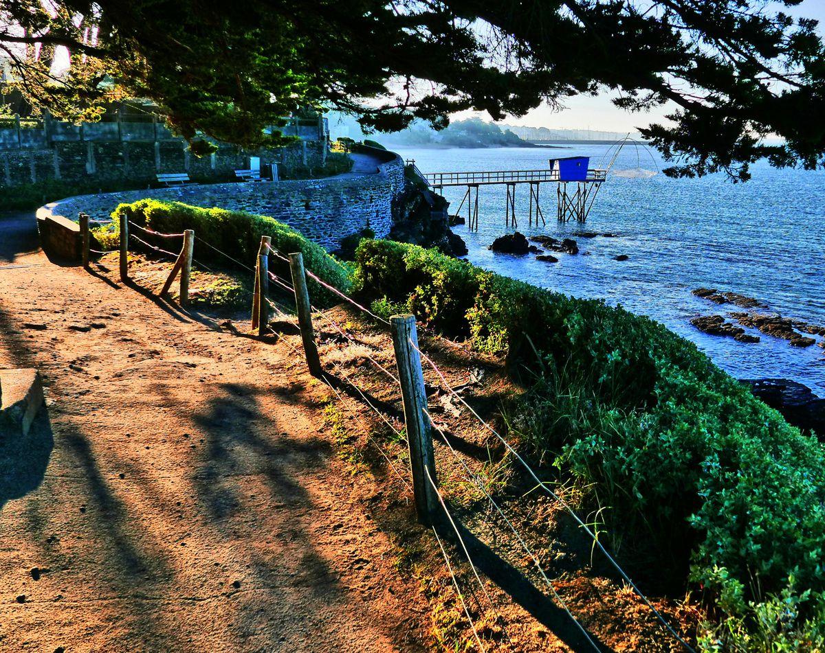 Merveilleux sentier de Sainte-Marie-sur Mer