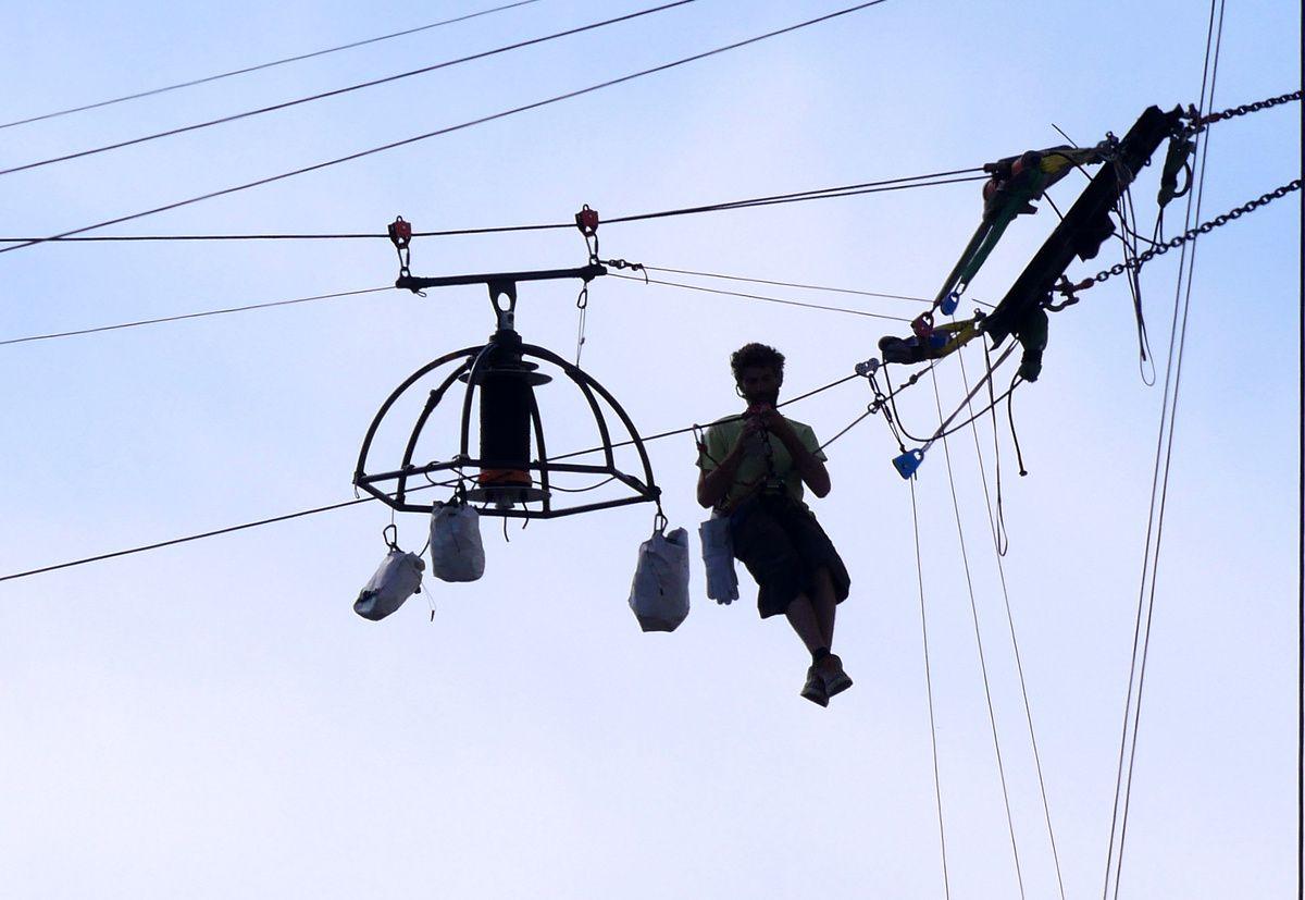 Il n'y a pas que la playmouette qui vole dans les airs !