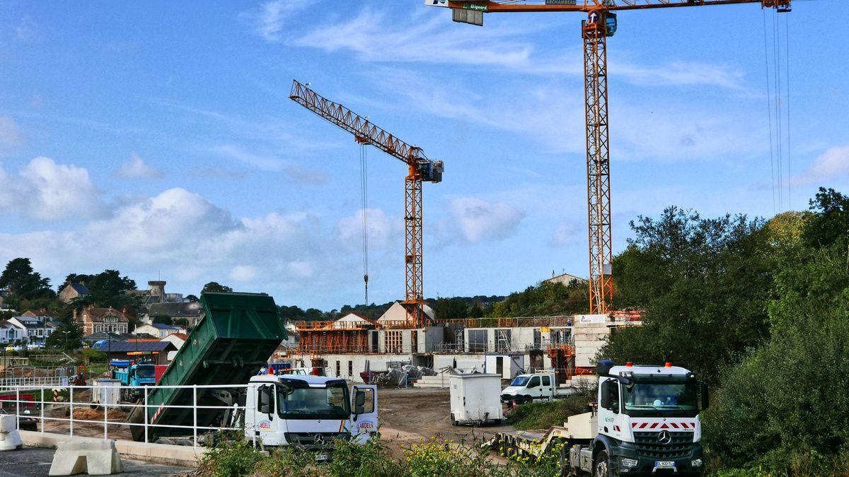construction de 5 bâtiments de 3 et 4 étages