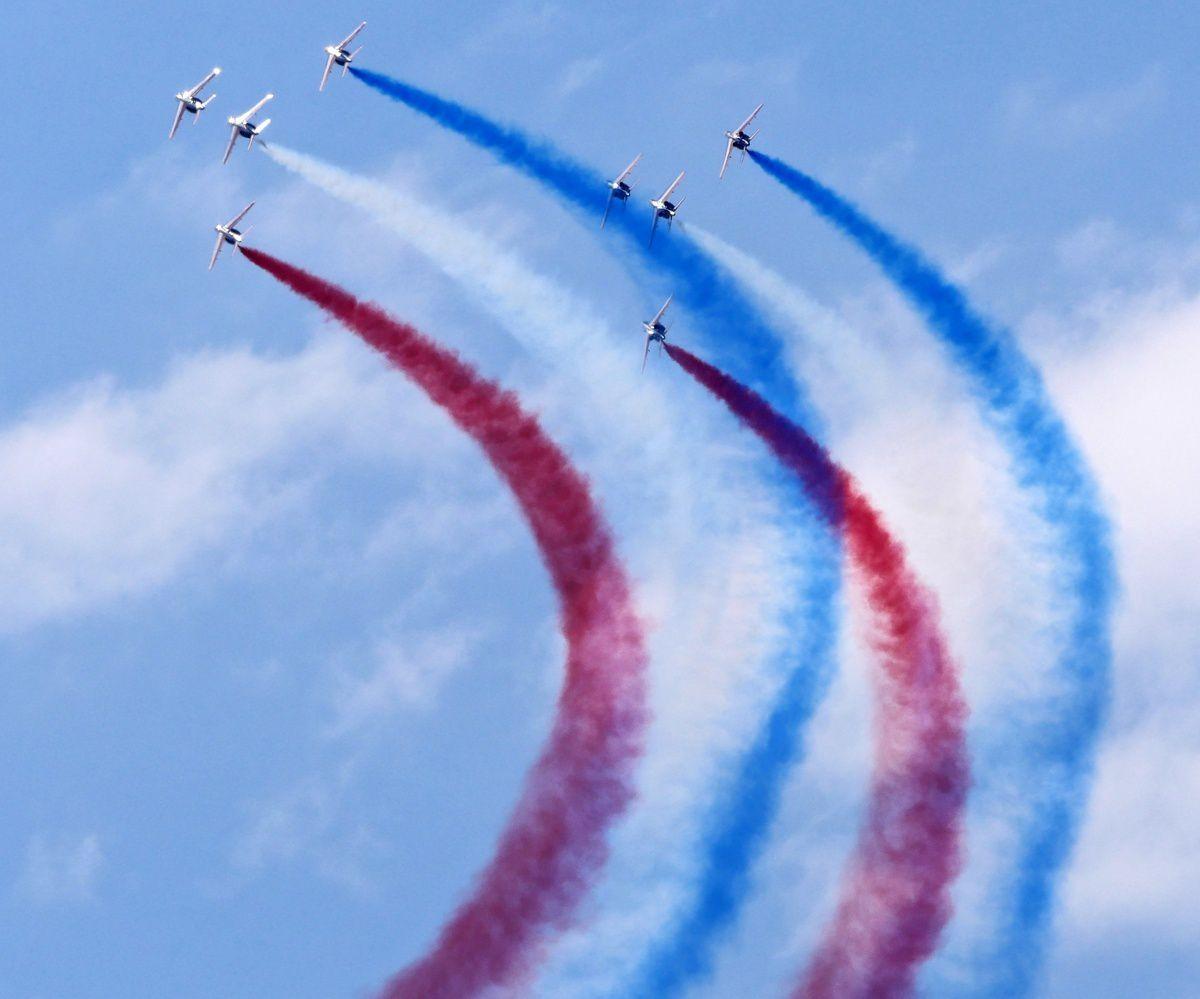 meeting aérien à Pornic : les ailes bleues