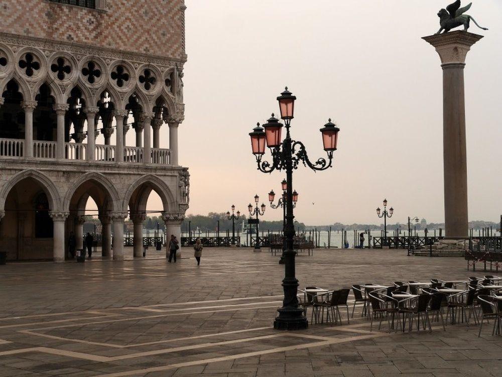 la foule à Venise ?