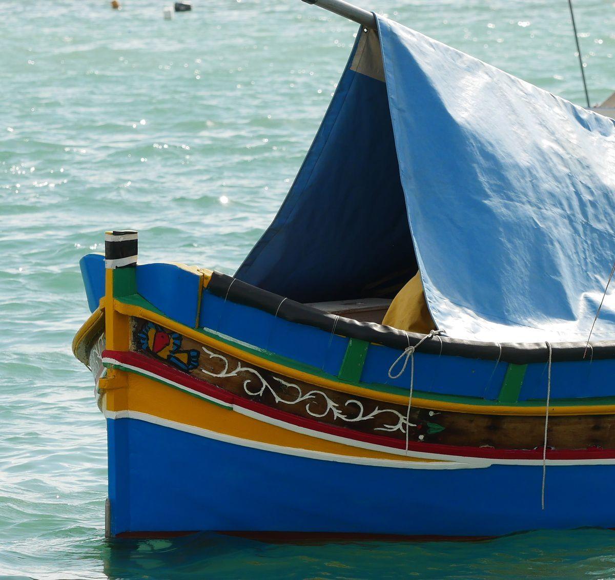 un village de pêcheurs à Malte