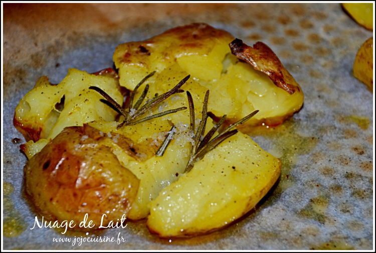 Pomme de terre tapée au Romarin