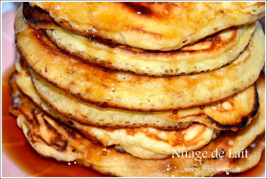 Pancakes ou Crêpes Américaines au sirop d'Erable
