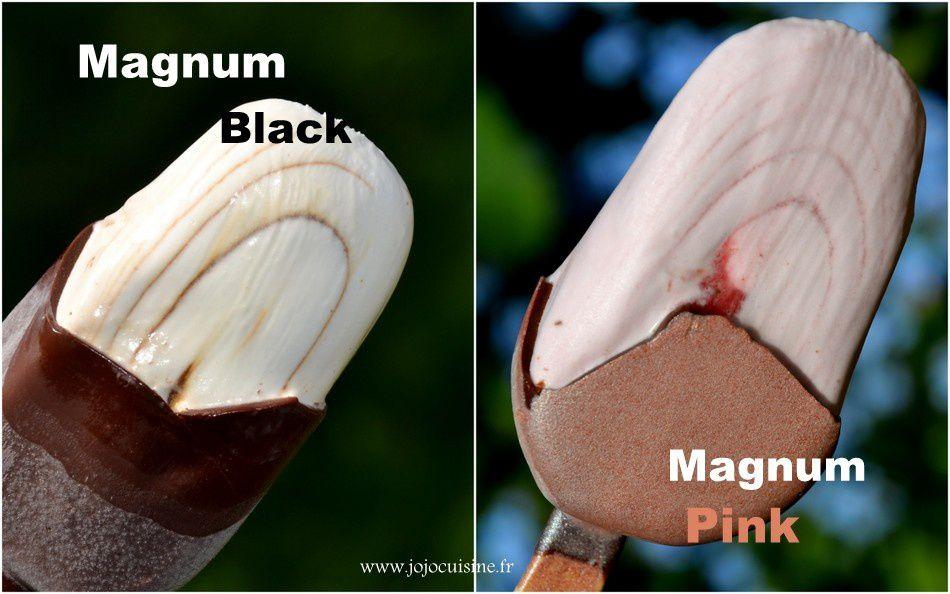 Nouveauté Magnum Pink & Black (bons d'achats à gagner)