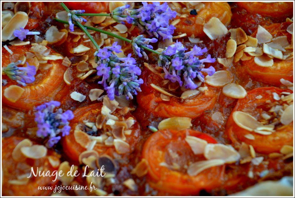 Tarte aux Abricots et Lavande