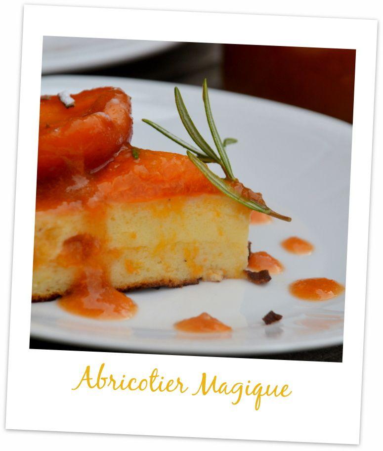 Gâteau Magique à l'Abricot et Romarin ou Abricotier Magique