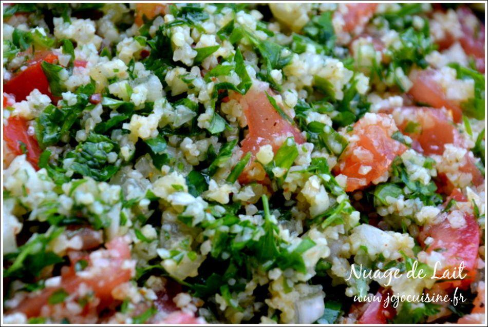 Taboulé Libanais, recette Libanaise