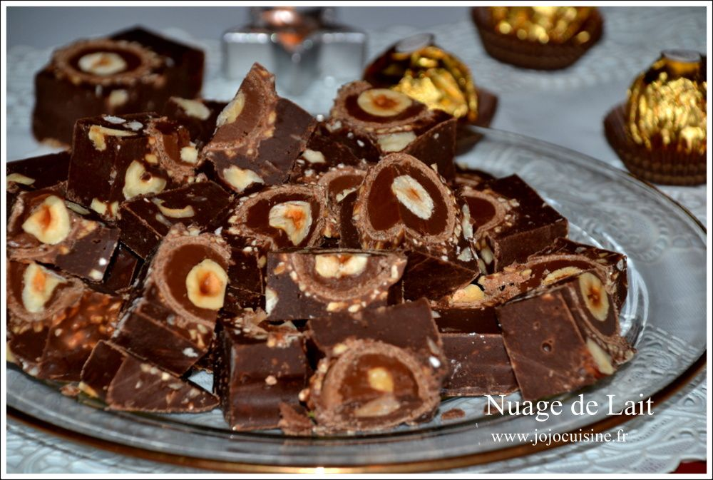 Fudges Nutella et Ferrero