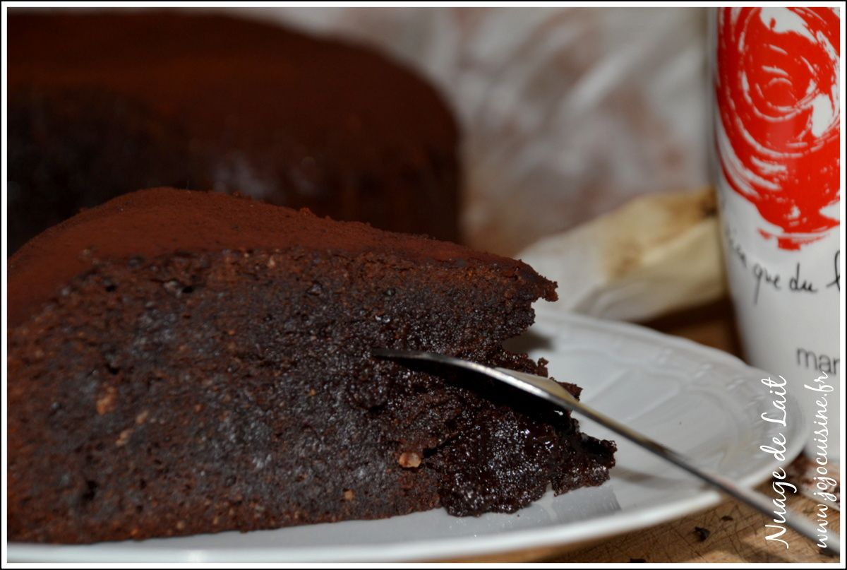 """The Ultimate Chocolate Cake"" de Donna Hay Gâteau au Chocolat trèèès Fondant"