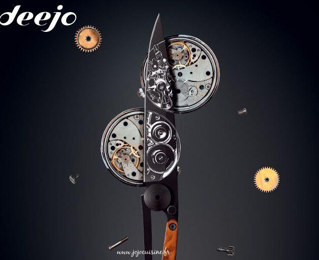 Couteau Deejo personnalisable à gagner (jeu/concours) et idée cadeau Fête des Pères