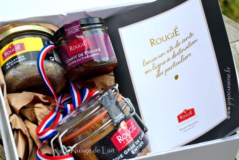 """""""Rougié"""" la marque partenaire des Grands Chefs lance son site e-commerce Jeu/Concours inside"""