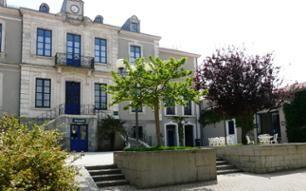 Site de la future université des Sables d'Olonne : l'ancienne  sous-préfecture