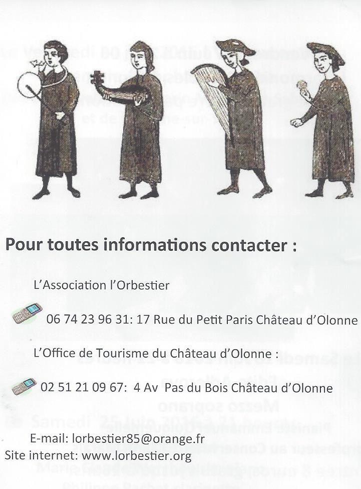 ÉGLISE ROMANE DE L'ABBAYE SAINT JEAN D'ORBESTIER À CHÂTEAU D'OLONNE EN VENDÉE : SUITE DES ANIMATIONS