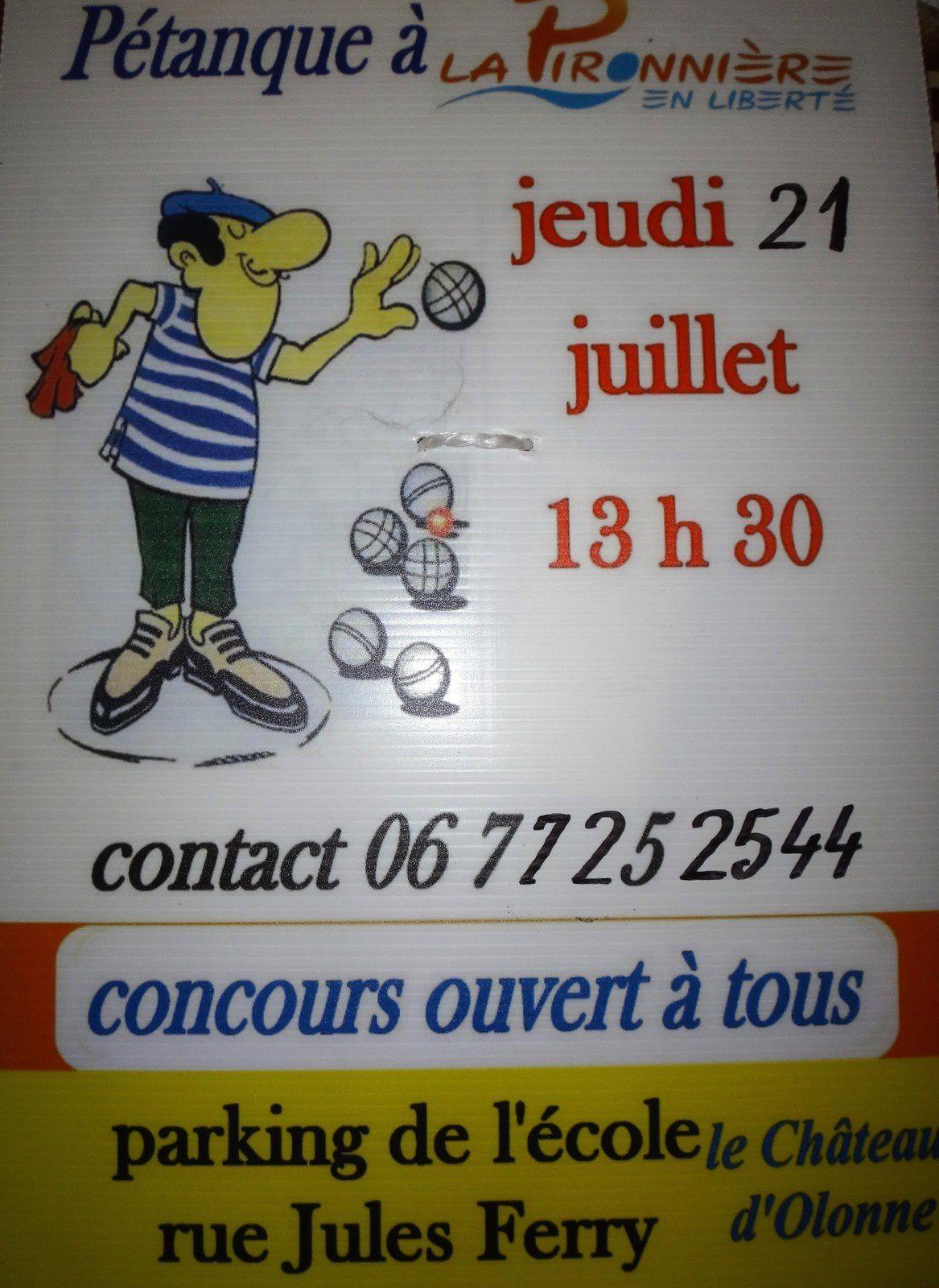 CHÂTEAU D'OLONNE : LA PIRONNIÈRE EN FÊTE