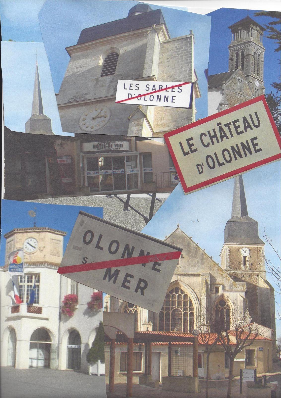 3 communes, 3 mairies, 3 clochers bientôt une seule COMMUNE au Pays des Olonnes  ?