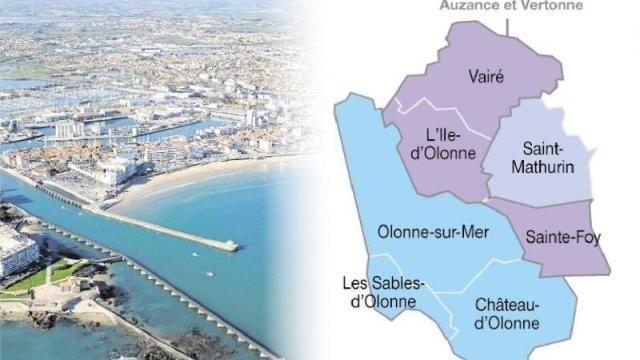 """L'AGGLOMÉRATIOn """"LES SABLES D'OLONNE"""""""