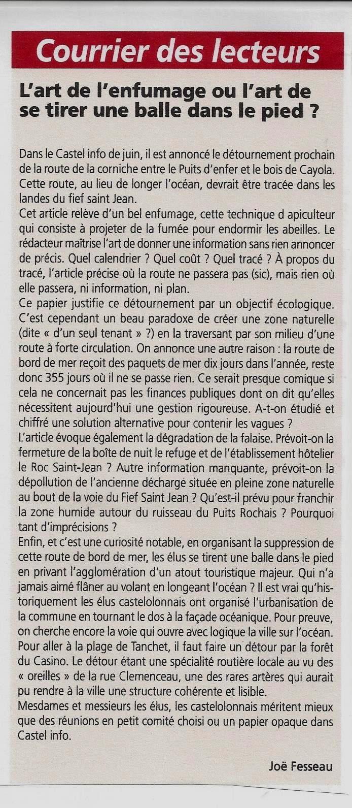 PUBLIÉ PAR LE JOURNAL DES SABLES 21 SEPTEMBRE 2017
