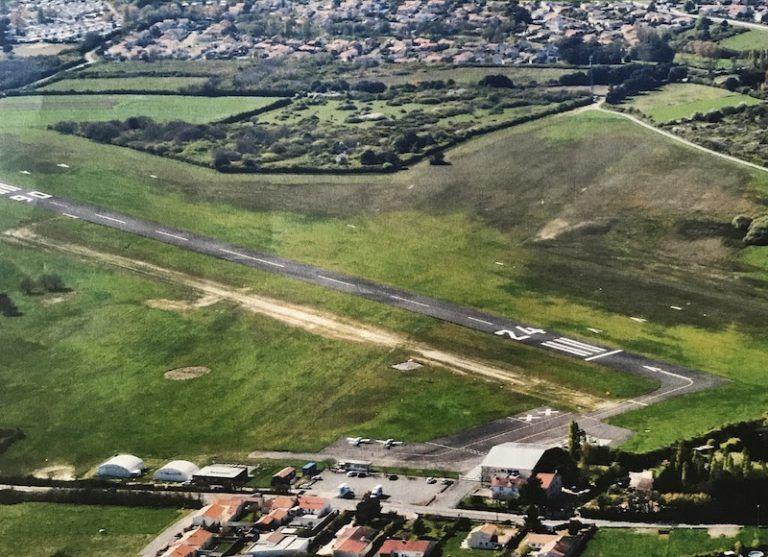 """L'Aérodrome des Sables Photo """" reporter sablais juillet 2017"""""""