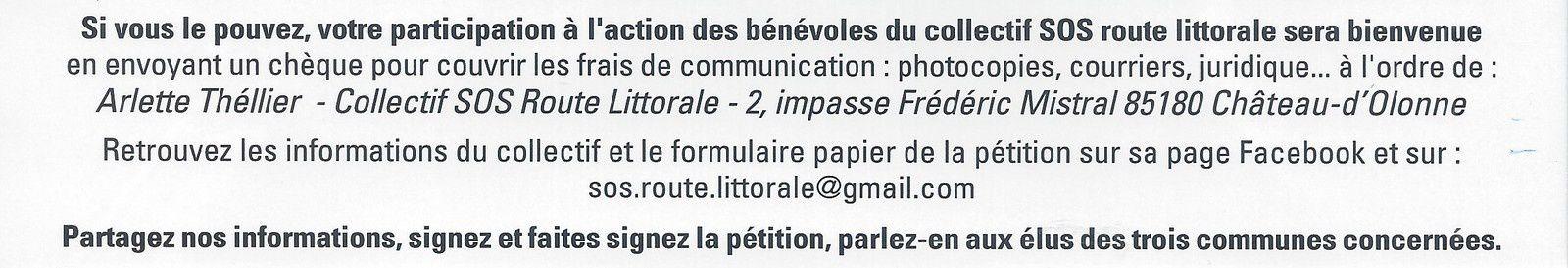 FERMETURE DE LA ROUTE LITTORALE À CHÂTEAU D'OLONNE (VENDÉE) : UNE EXPLICATION