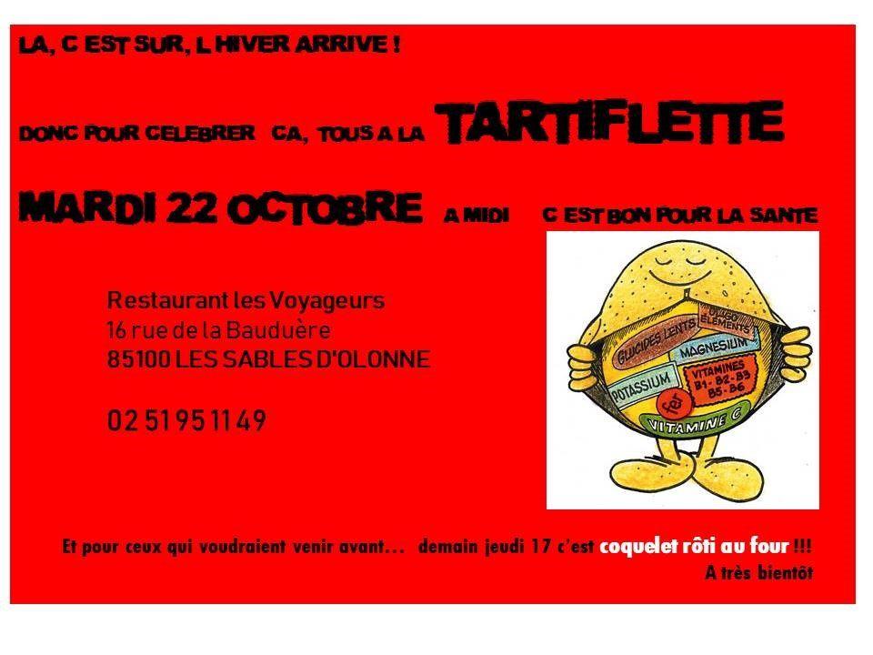 SORTIR AUX SABLES D'OLONNE, LE 22 OCTOBRE 2019