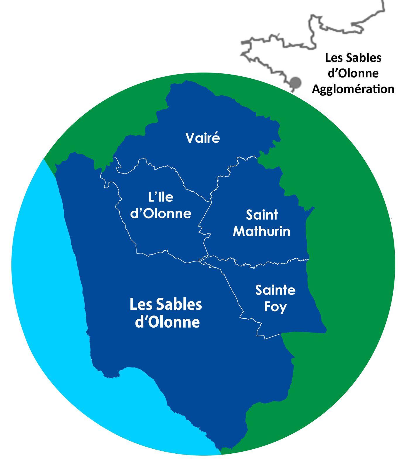 LES SABLES D'OLONNE AGGLOMÉRATION : UN TERRITOIRE COHÉRENT, UN RÉEL BASSIN D'EMPLOI