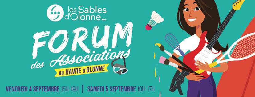 LES SABLES D'OLONNE : FORUM DES ASSOCIATIONS 4 et 5 SEPTEMBRE