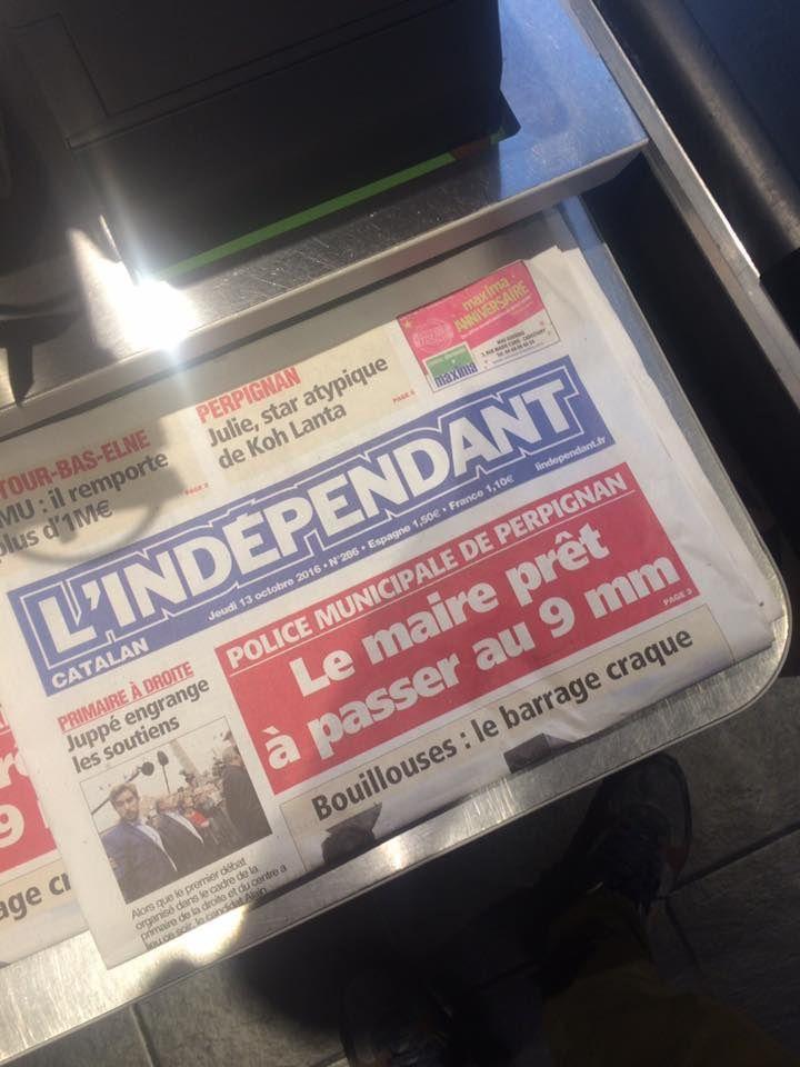 Pendant que tout le monde parle de Ménard (maire de Béziers) celui de Perpignan Jhon Mac Pujol continue ... ...