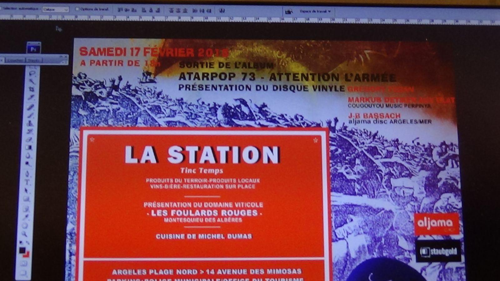 Perpignan: réédition d'un disque vinyle  par un collectif de catalan 'attention l'armée' ! interview Jean-Bernard Bassach par Nicolas Caudeville