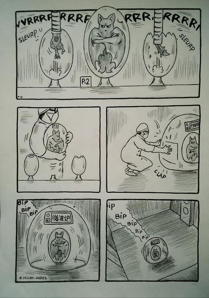 BD/ Coronavirus : ''l'origine avant le confinement'' par l'artiste perpignanais Quentin Harel