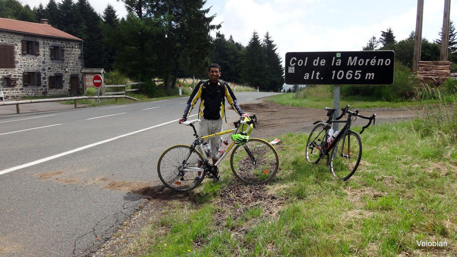 Le Puy de Dôme et le Sancy avec Idris