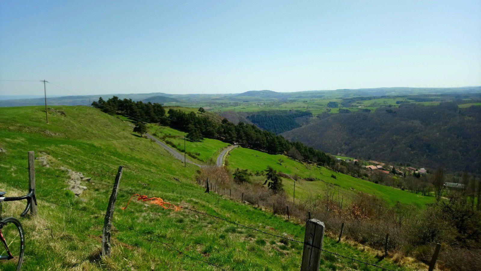 400 km via le Cantal en 2 jours