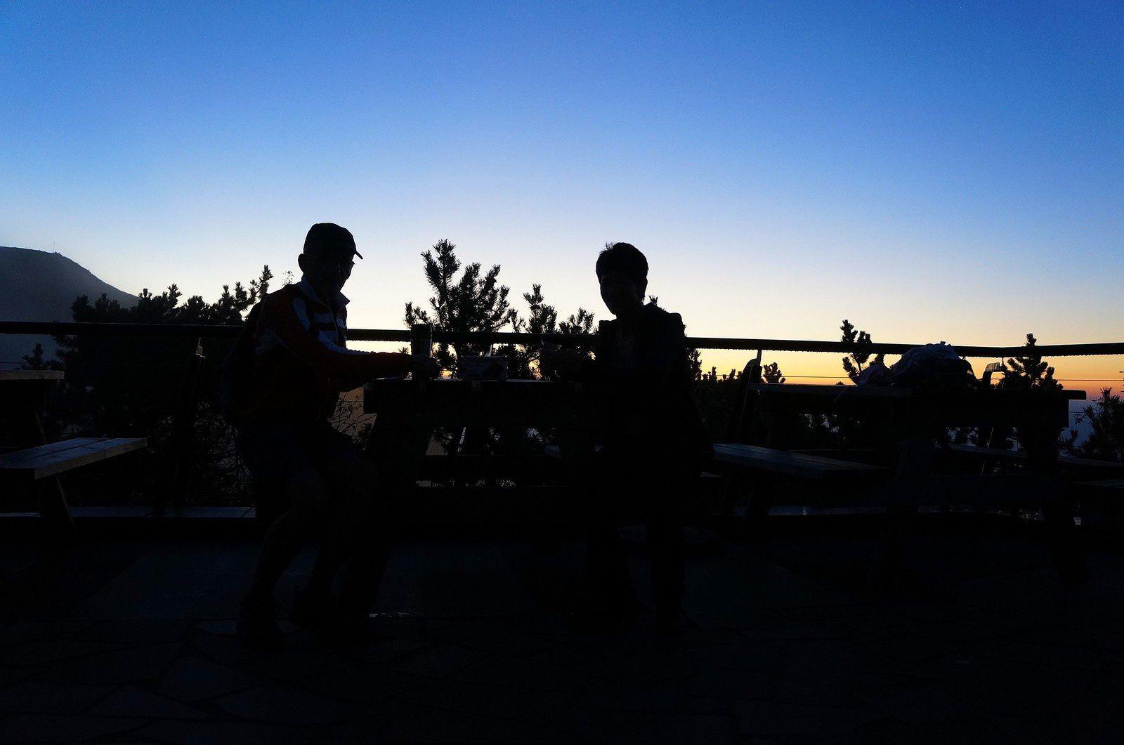 Le Puy de Dôme à 6h30