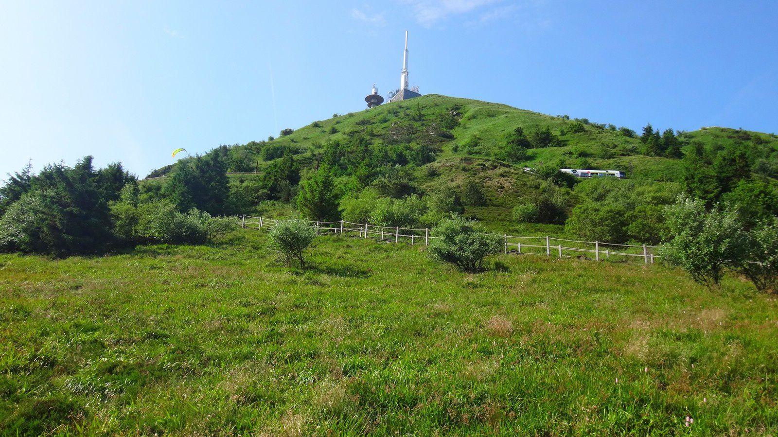 Balade à pied au Puy de Dôme