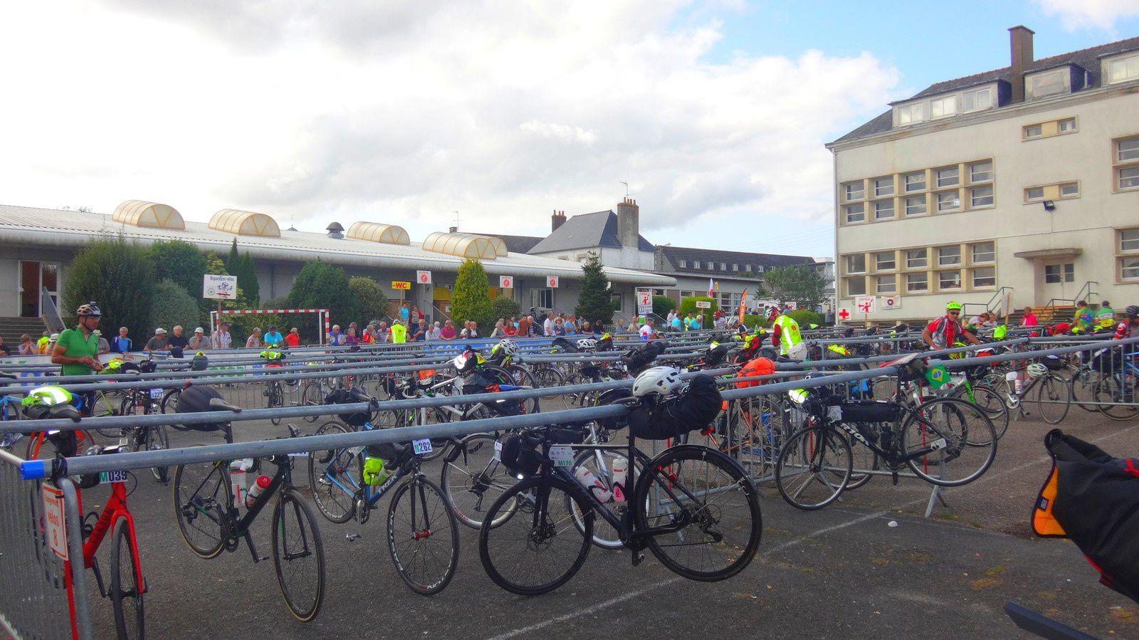 Paris-Brest-Paris 2019 à vélo couché.