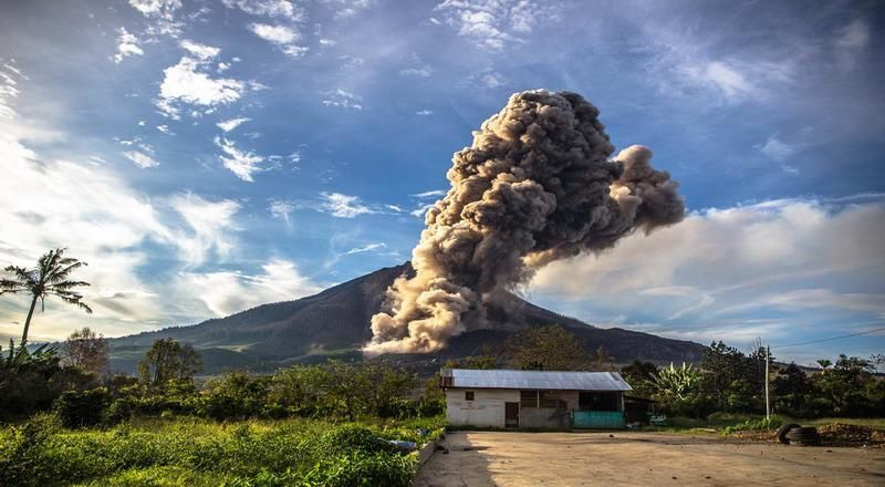 Sinabung - 07/11/2016 - photo DPDT Kab Blitar