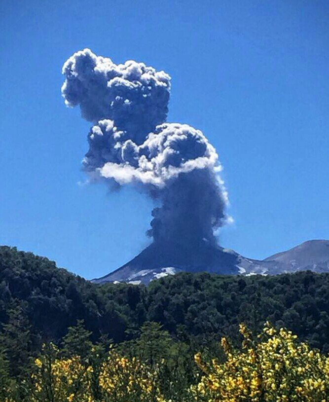 Nevados of Chillan complex - 17.11.2016 - photo Volcanes of Chile
