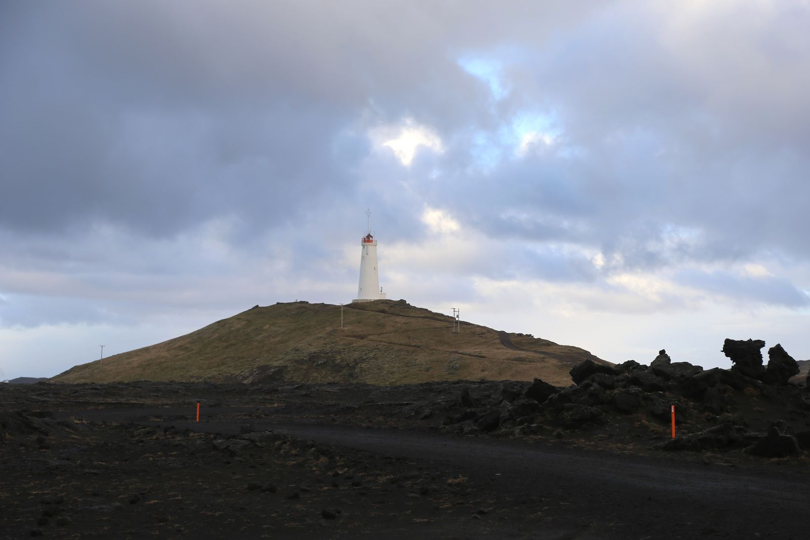 Le phare de Reykjanes -  photo © Bernard Duyck 10.2016