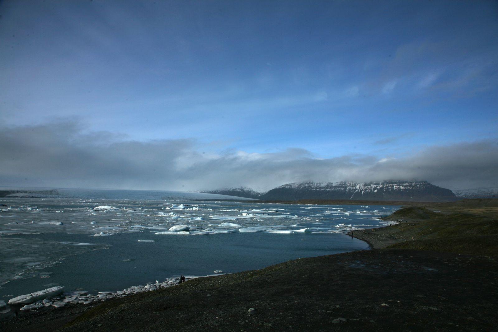 Le lagon glaciaire de Jökulsárlón - photo © Bernard Duyck