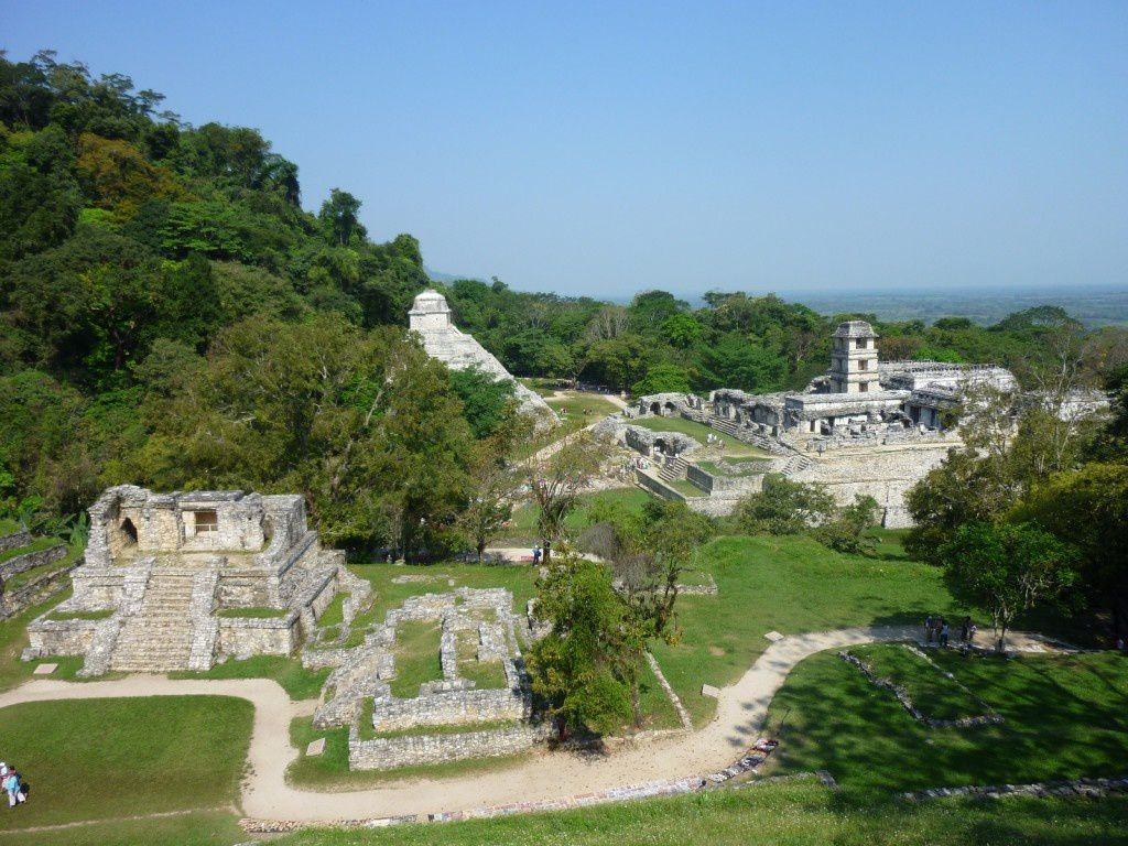 Palenque, a Mayan site in Chiapas - photo Nomade Horizon