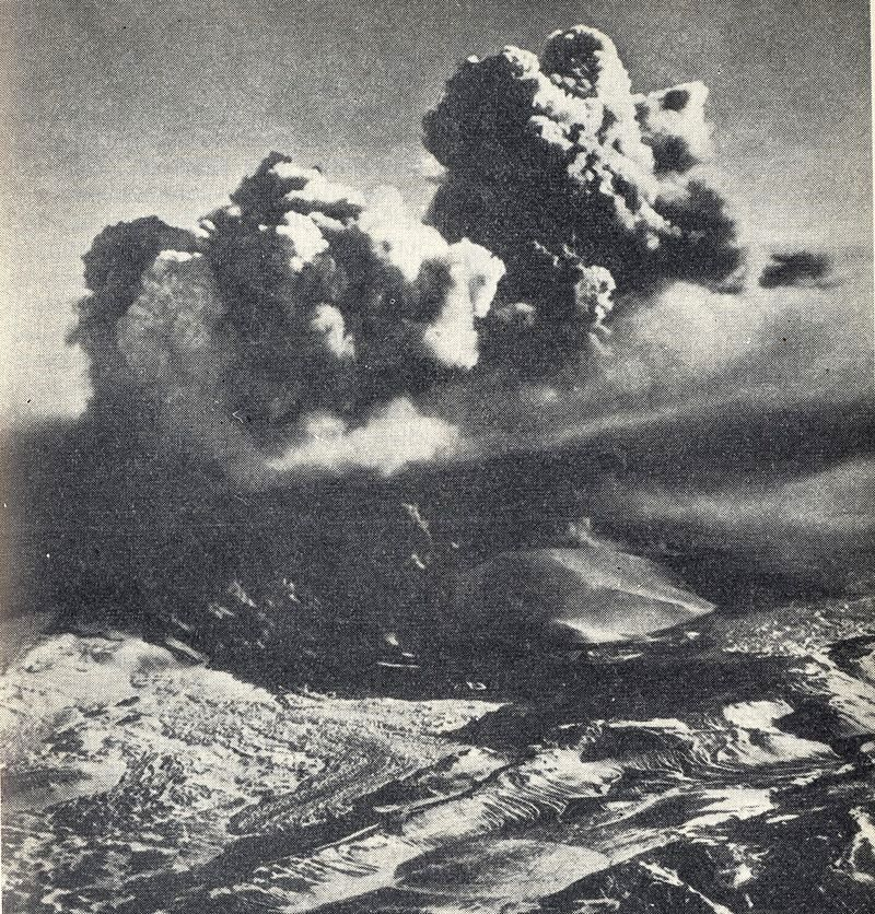 The eruption of the Hekla in 1947 - Doc. Oregonstate Univ.